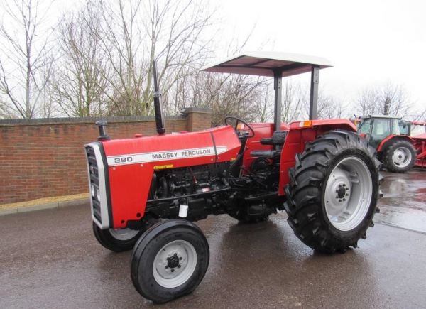 MF Tractors in Uganda
