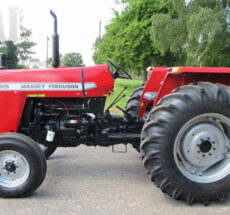 MF Tractors in Central Africa