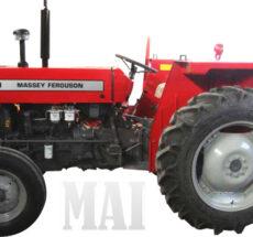 MF tractors in Barbuda